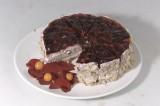 Ягодный ежевичный торт