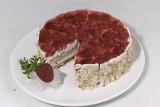 Ягодный клубничный торт